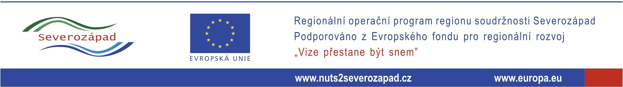 Anotace k projektu podpořeného dotačními prostředky z ROP NUTSII Severozápad