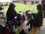 Řezbářské sympozium a paličkování 2013